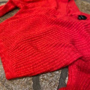 Orange-red Sweater